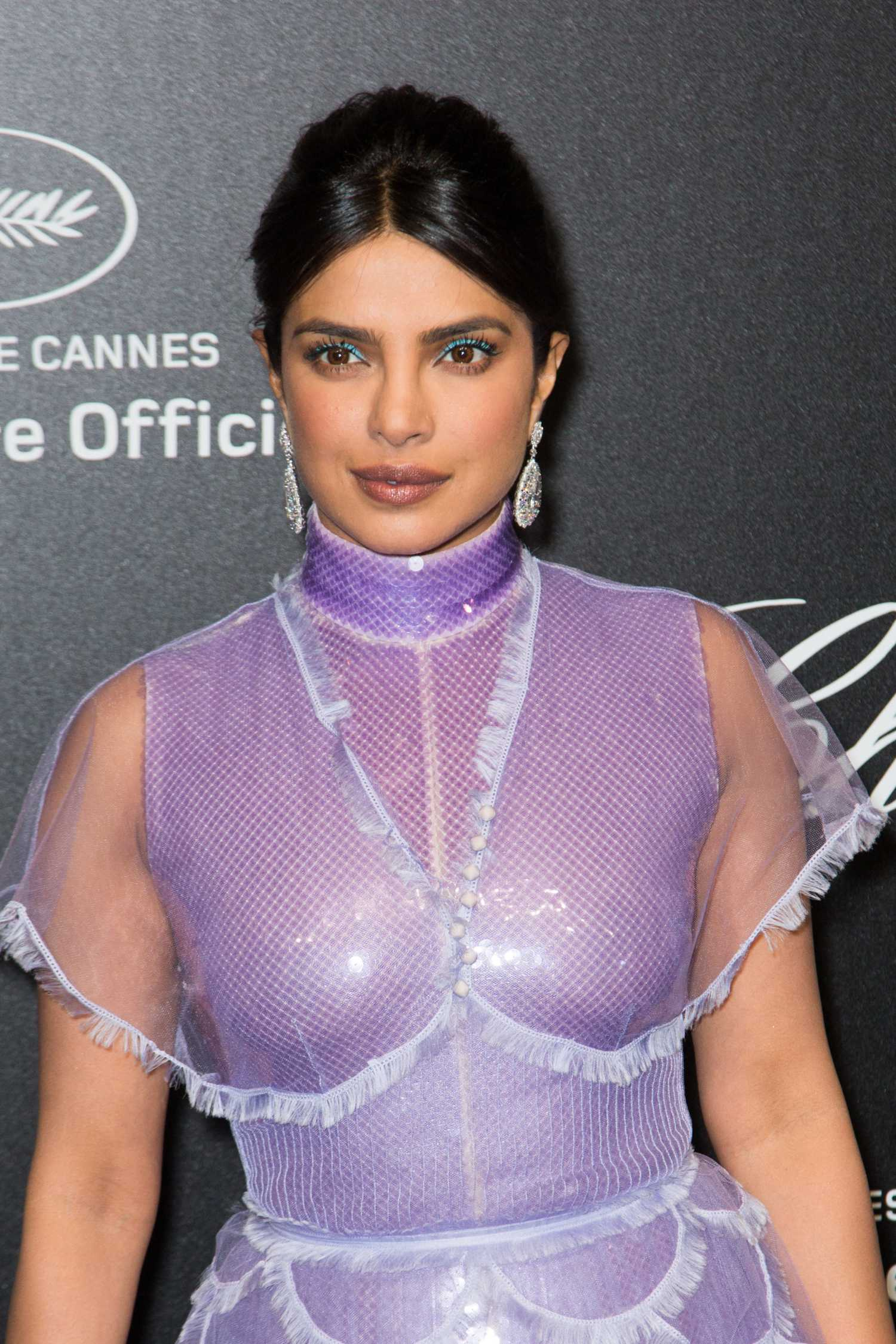 Priyanka Chopra Attends Chopard Love Night Photocall During the 72nd Cannes Film Festival in ...