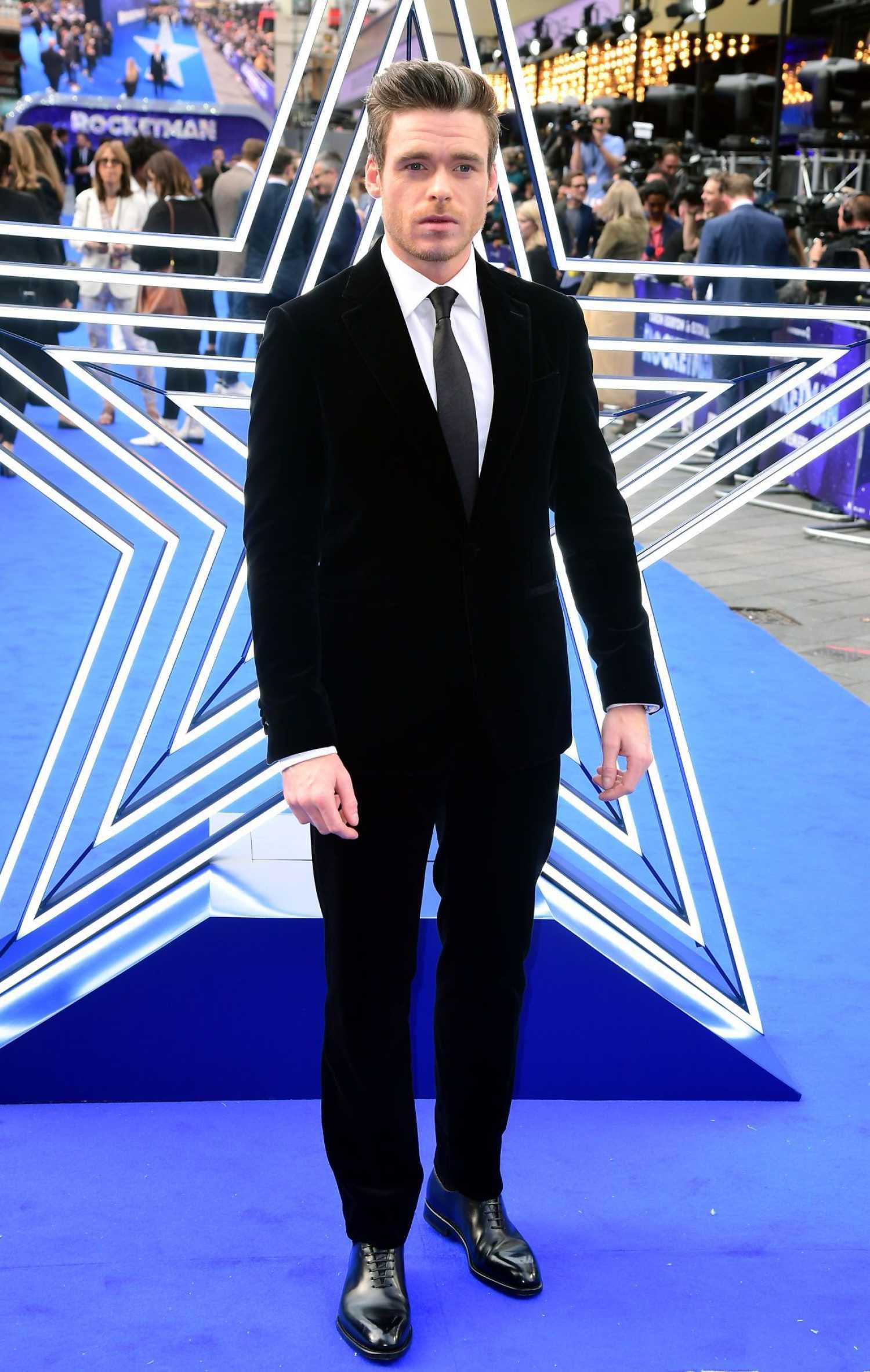 Richard Madden Attends The Rocketman UK Premiere In London