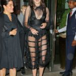 Shailene Woodley in a Black See-Through Dress Leaves the Whitby Hotel in NYC
