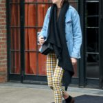 Shailene Woodley in a Blue Denim Jacket Was Seen Out in NYC