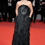 Virginie Ledoyen Attends the Pain and Glory Red Carpet During the 72nd Annual Cannes Film Festival in Cannes