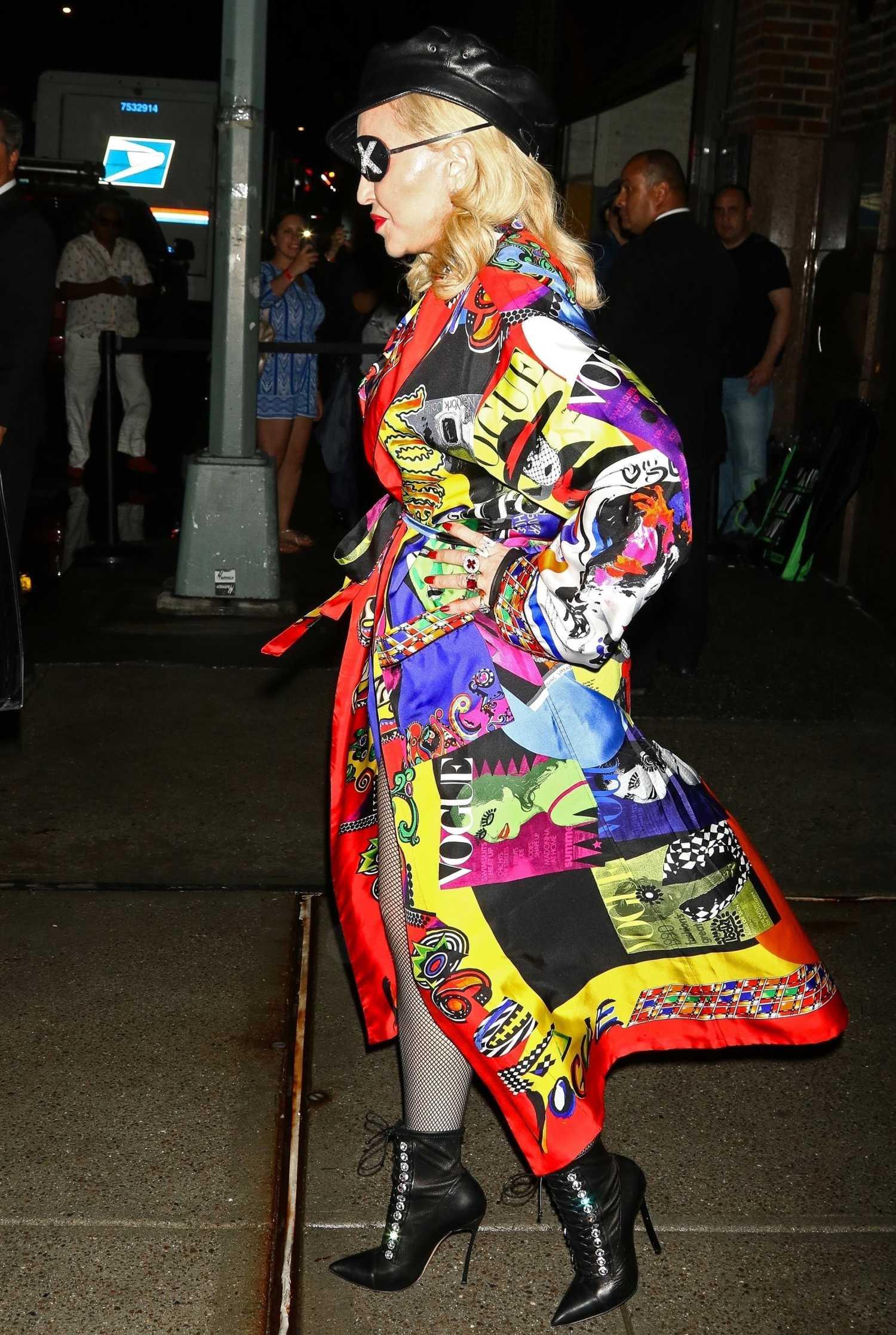 Madonna Promotes Her N...