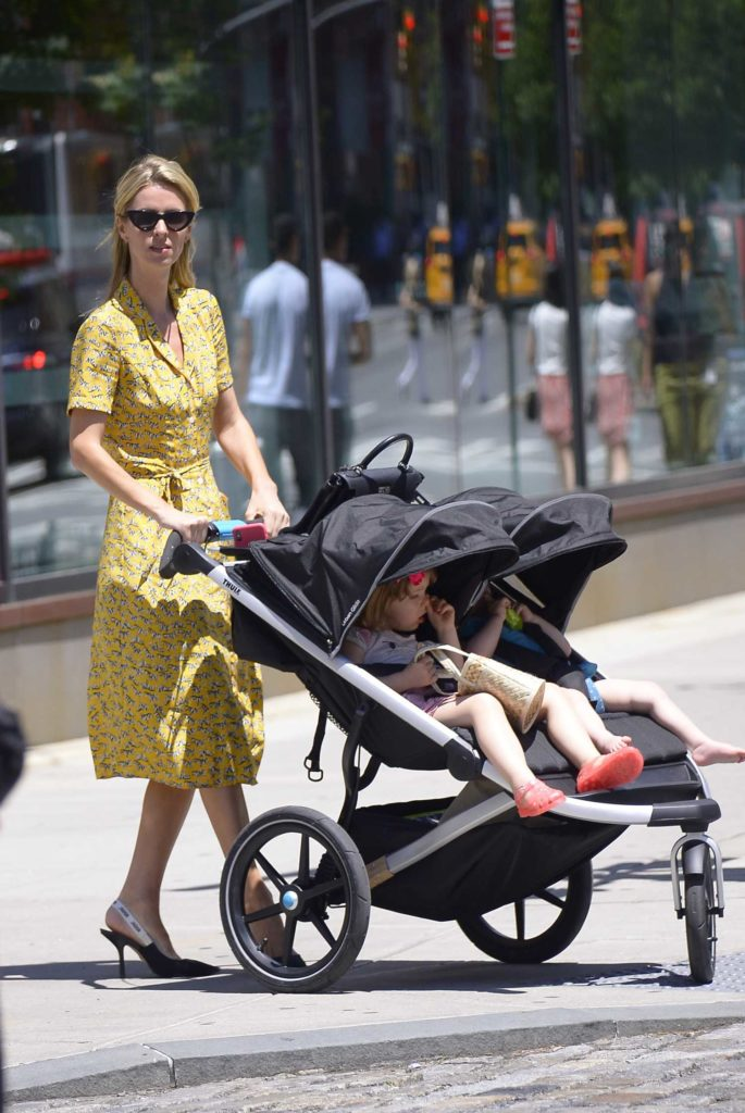 Nicky Hilton in a Yellow Dress