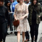 Sutton Foster Leaves Good Morning America in New York