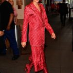 Zendaya in a Red Suit Was Seen Out in New York City