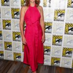 Cobie Smulders Attends ABC's Stumptown Panel During 2019 Comic-Con in San Diego