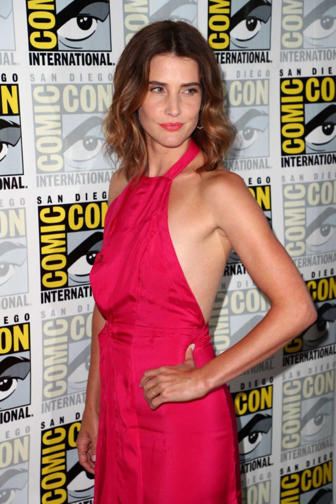 Cobie Smulders Attends Abc S Stumptown Panel During 2019