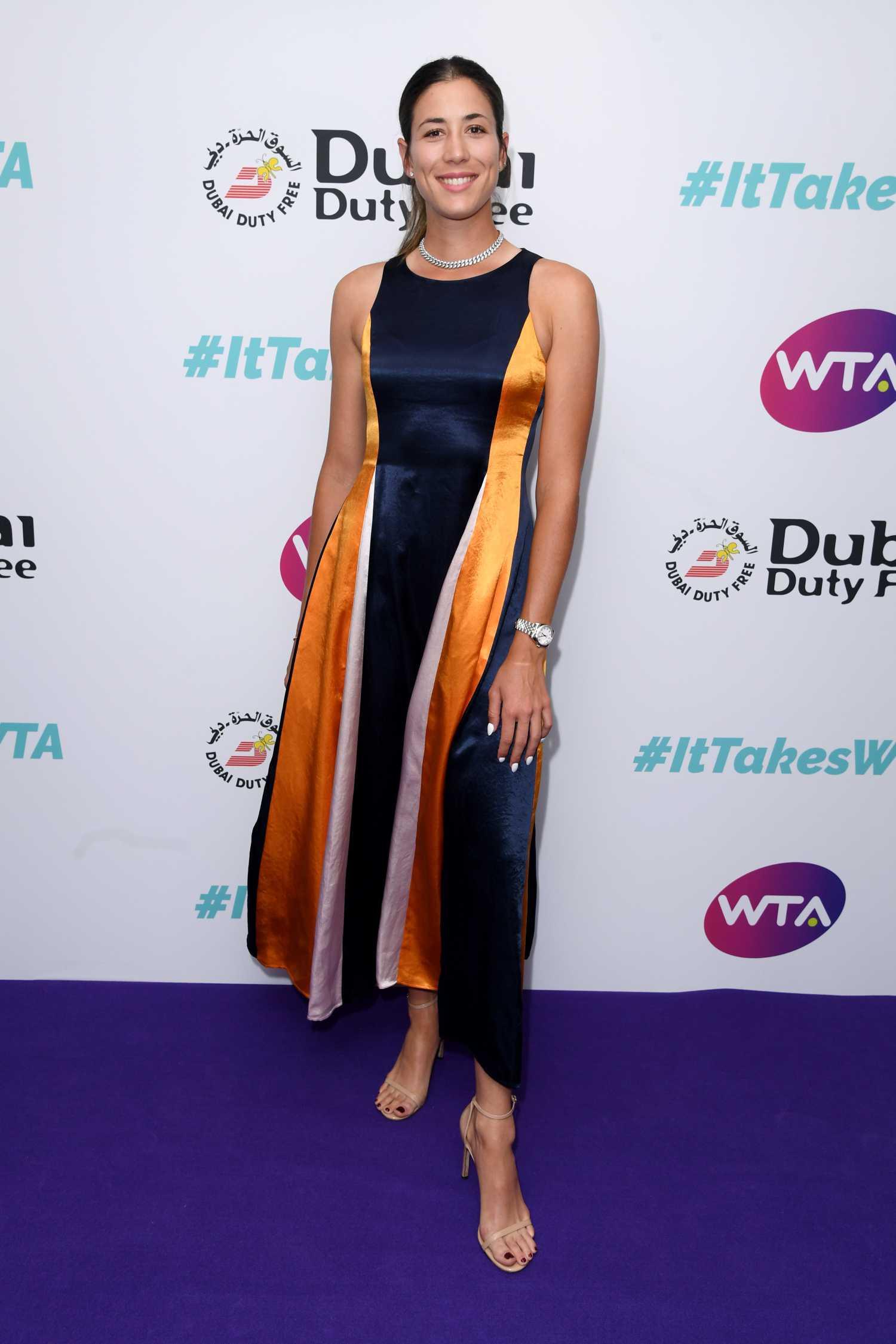 Garbine Muguruza Attends Dubai Duty Free WTA Summer Party in London – Celeb Donut
