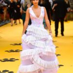 Maya Jama Attends Disney's The Lion King European Premiere in Leicester Square in London