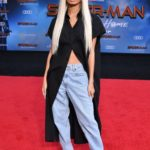 Pia Mia Attends the Spider-Man Far From Home Premiere at TCL Chinese Theatre in Hollywood