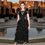 Zoey Deutch Attends the Cocktail and Fendi Show at Palatine Hill in Rome