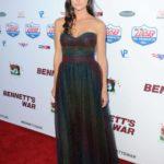 Allison Paige Attends Bennett's War Los Angeles Premiere in Burbank