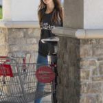 Megan Fox in a Camo Cap Arrives at CVS pharmacy in Los Angeles