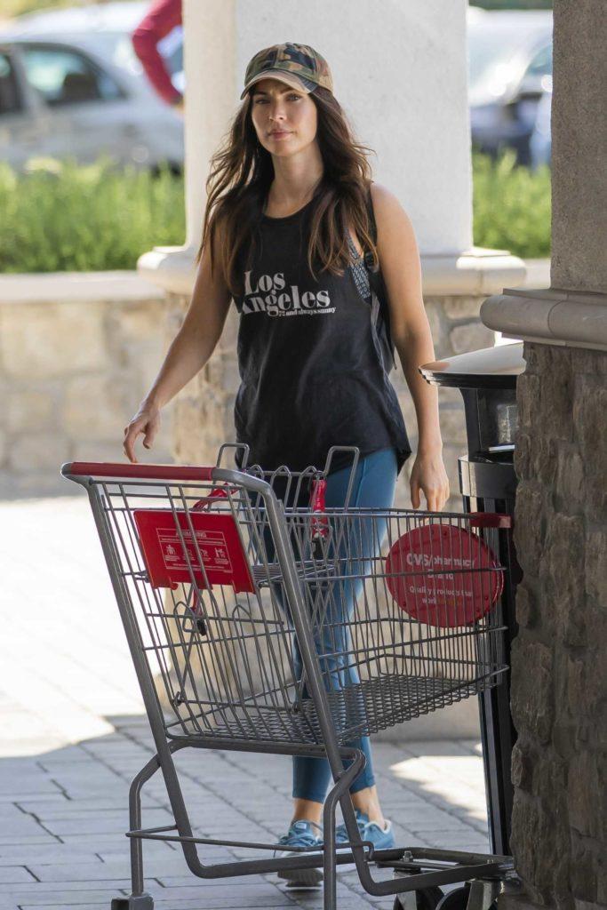 Megan Fox in a Camo Cap