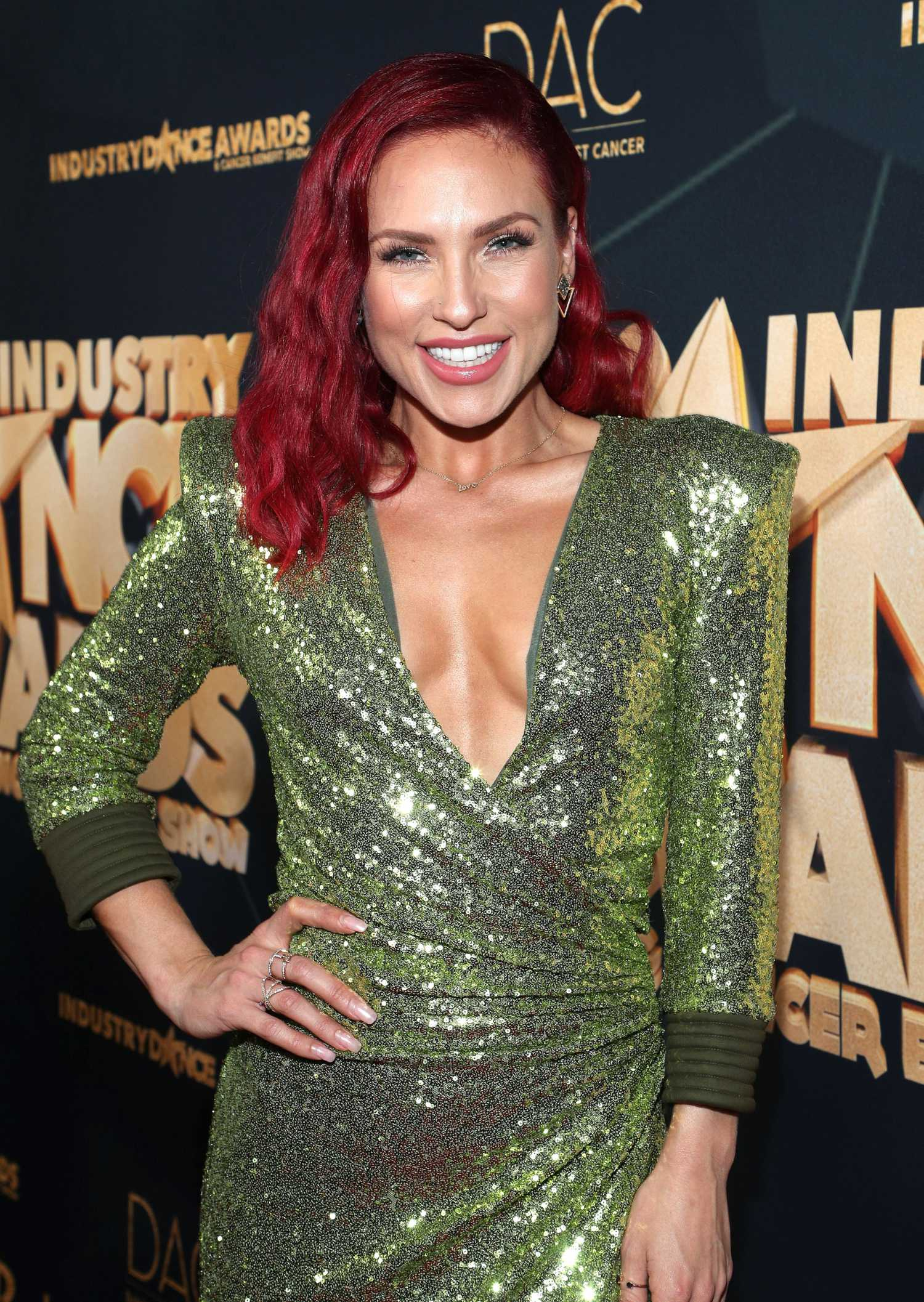 Sharna Burgess Attends Industry Dance Awards and Cancer ...