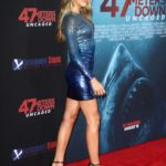 Sistine Stallone Attends 47 Meters Down: Uncaged Premiere at Regency Village Theatre in LA