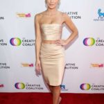 Annalynne McCord Attends The Creative Coalition's Annual Television Humanitarian Awards Gala in Beverly Hills
