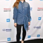 Holland Roden Attends WE Day New York 2019 in New York