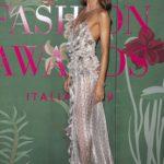 Izabel Goulart Attends the Green Carpet Fashion Awards in Milan