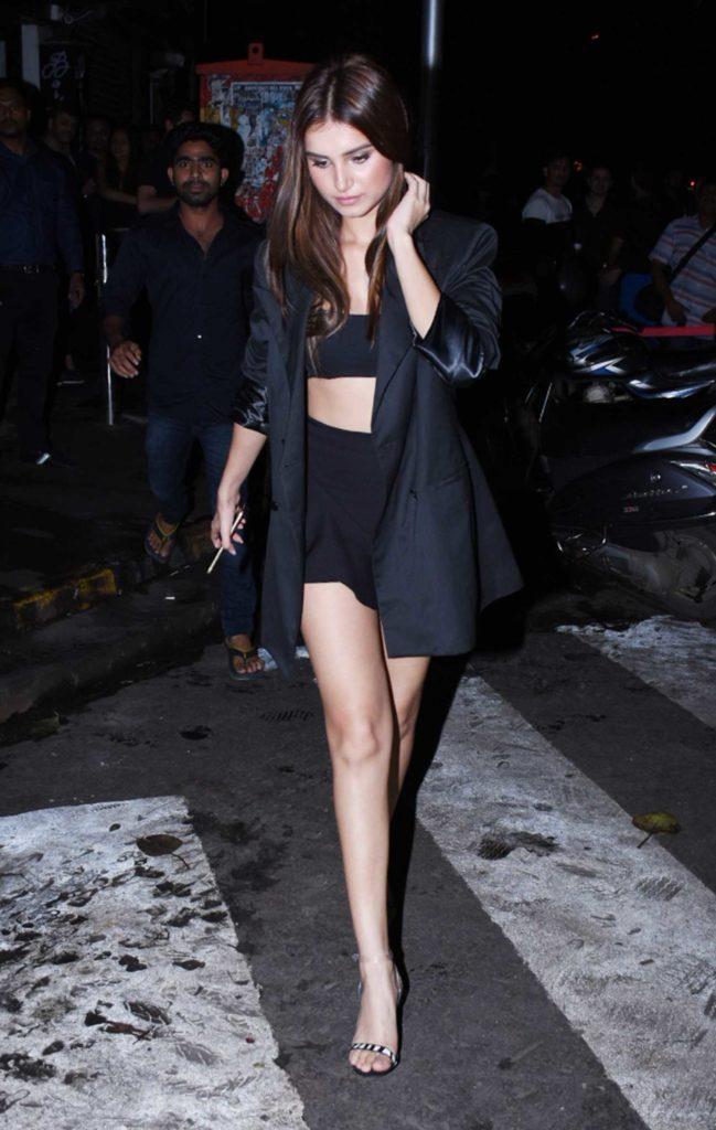 Tara Sutaria in a Black Blazer