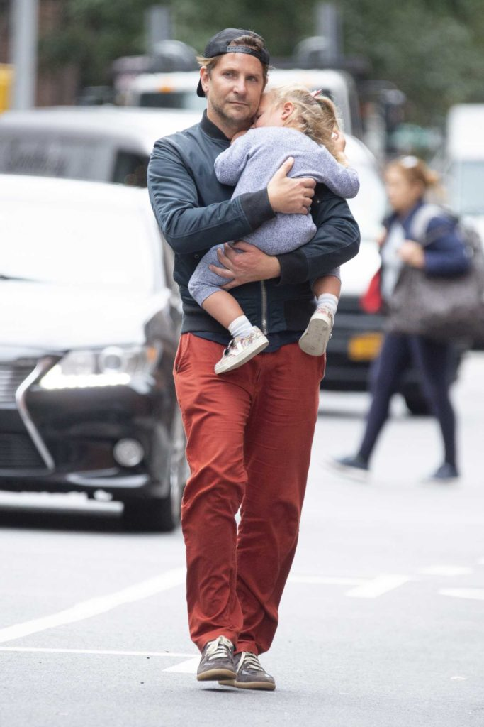 Bradley Cooper in a Red Pants