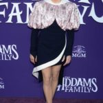Chloe Moretz Attends The Addams Family Premiere at Westfield Century City AMC in LA