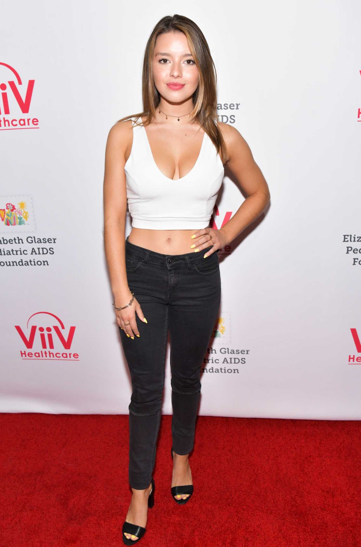 Fatima Ptacek Attend the 30th Annual A Time For Heroes ...