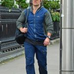 Henry Cavill in a Brown Cap Was Seen in Central London