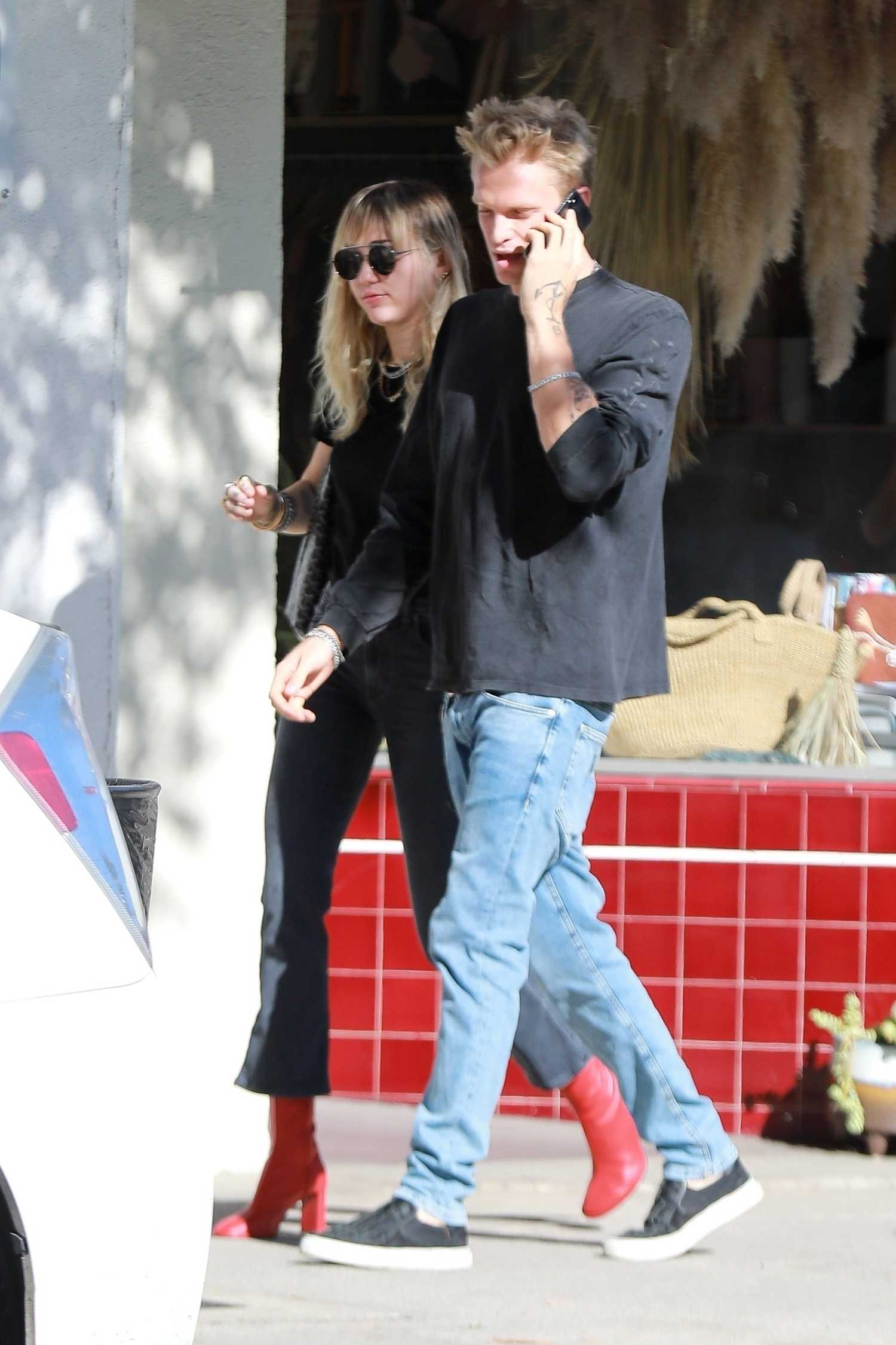 Miley Cyrus Was Seen Out With Cody Simpson In Los Angeles