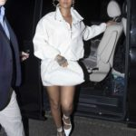 Rihanna in a White Suit Was Seen Out in London