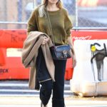Sienna Miller in a Black Cap Was Seen Out in New York City