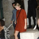 Taylor Swift Departs the Howard Gilman Opera House at the Brooklyn Academy of Music in NY