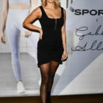 Ashley James Attends Gabby Allen's SportFX Clothing Line Launch in London