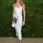 Candice Swanepoel Attends CFDA and Vogue Fashion Fund Awards in New York