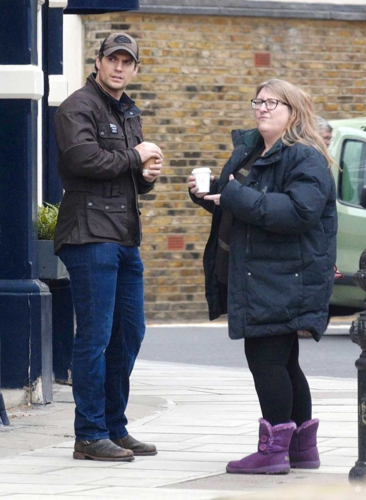Henry Cavill Was Spotted Out with a Female Friend in ... As Seen On Tv