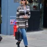 Karlie Kloss in a Blue Jeans Was Seen Out in NY