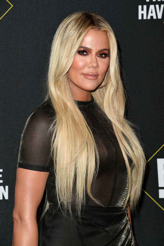 Khloe Kardashian Attends 2019 E People U2019s Choice Awards At