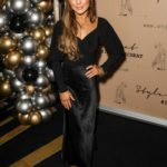 Louise Thompson Attends 2019 Style Cheat's Christmas Party at Quaglinos in London