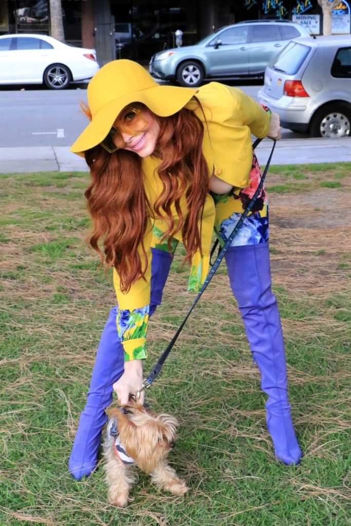 Phoebe Price in a Yellow Hat