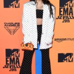 Rosalia Attends MTV Europe Music Awards in Seville