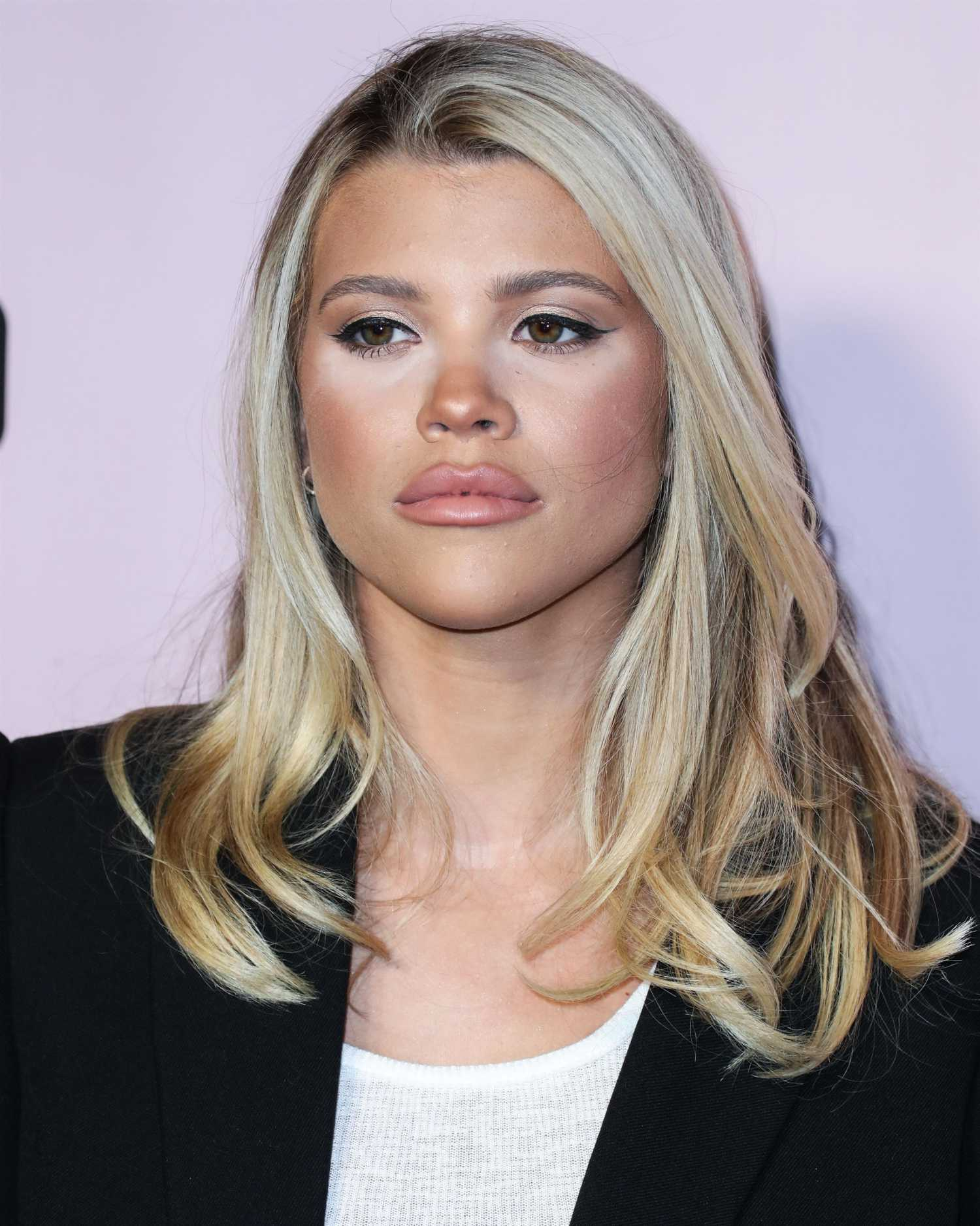 Sofia Richie Attends Boohoo X All That Glitters Launch