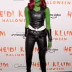 Taylor Hill Attends the Heidi Klum's 20th Annual Halloween Party in New York