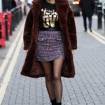 Ashley James Arrives at the Choose Love Pop-Up Store Event in London