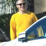 Chris Pine in a Yellow Sweatshirt Was Seen Out with Annabelle Wallis in Hollywood