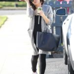 Jenna Dewan in a White Sneakers Was Seen Out in Los Angeles