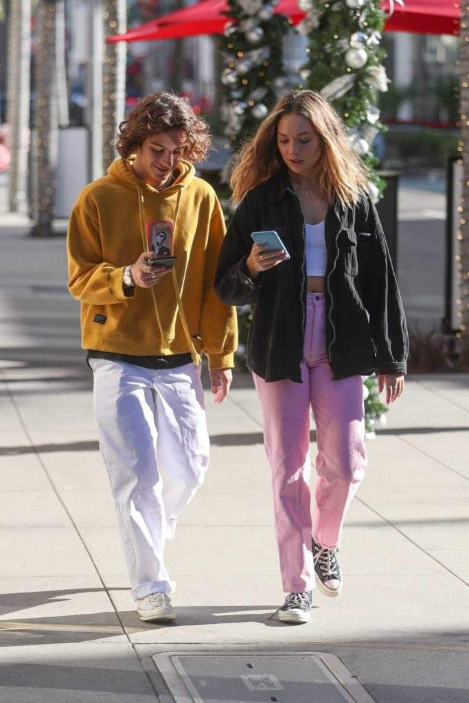 Maddie Ziegler in a Pink Pants