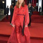 Noomi Rapace Attends 2019 Fashion Awards at Royal Albert Hall in London