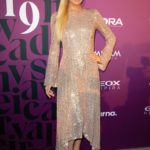 Paris Hilton Attends 2019 Footwear News Achievement Awards at the IAC Building in New York