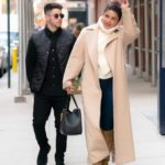 Priyanka Chopra in a Beige Coat Was Seen Out with Nick Jonas in New York
