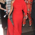 Priyanka Chopra in a Red Dress Heads to the Unicef Snowflake Ball in New York City